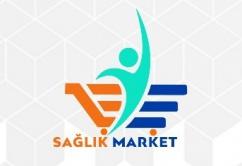 saglık market logo